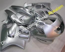 $enCountryForm.capitalKeyWord NZ - Moto Fairing Aftermarket Kit For Honda CBR600 F3 600F 3 97 98 CBR 600 F3 1997 1998 Full Silver Motorcycle Fairings (Injection molding)
