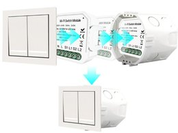 $enCountryForm.capitalKeyWord Australia - Hidden wifi switch 2 independent control switch and panel switch can be placed into 86 inner box