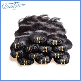 $enCountryForm.capitalKeyWord Canada - Factory Clearance Wholesale Brazilian Human Hair Extensions Weaves Real Human Hair Material Made 2kg 40Pieces Lot Body Wave Black Color Hair