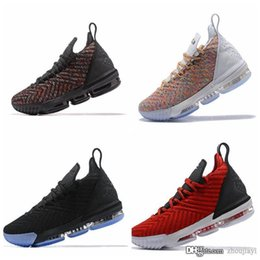 man baskets NZ - 2019 James 16 16s XVI Basketball Shoes Sneakers Green King I Promise Oreo Thru MVP What The Mens Man Basket Trainers Sports Shoes