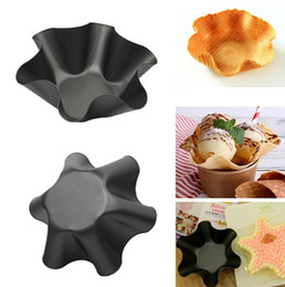 $enCountryForm.capitalKeyWord Australia - 6 Inches Flower Shaped Molds High Carbon Steel Teflon Cake Baking Pan Mould Bakeware Non Stick Loaf Dishes Decorating Tool