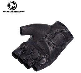 $enCountryForm.capitalKeyWord Australia - Motorcycle racing gloves half - finger gloves leather outdoor women riding motorcycles black protective