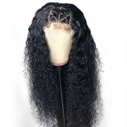 $enCountryForm.capitalKeyWord Australia - Pre Plucked Small Kinky Curly Wigs Virgin Human hair Wigs Lace front and Full lace Curly Wigs For Black Women