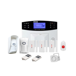 Chinese  Gsm Wireless Home Burglar Alarm System SOS Motion Door Window Sensor Security (UK Plug) car manufacturers
