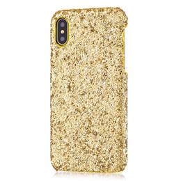 $enCountryForm.capitalKeyWord UK - Gold Bling Shimmer Powder Bling Phone Case for Iphone X XS MAX XR 8 7 6 6s 5 5S Plus Cellphone Bulk Luxury Sparkle Rhinestone Cover