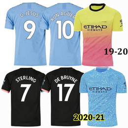 man city soccer jerseys NZ - 2019 2020 2021 manchester Soccer Jerseys G.JESUS BERNARDO DE BRUYNE STERLING KUN AGUERO city home away 3rd football men women shirt 4XL