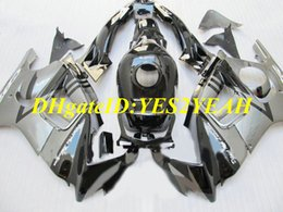 $enCountryForm.capitalKeyWord Australia - Motorcycle Fairing kit for Honda CBR600F3 95 96 CBR600 F3 1995 1996 CBR 600 ABS Cool silver black Fairings set+Gifts HQ28