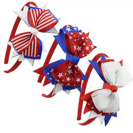 Chinese  INS Free DHL girls hair bows hairbands America Flag Hairpins Clippers Girls Hair Clips Unicorn Floral Barrettes JOJO SIWA Hair Accessories manufacturers