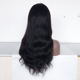 $enCountryForm.capitalKeyWord UK - Full Lace Wig and Human Hair Material Lace Wigs 180% Density Indian Virgin Hair Lace Front Wigs Natural Straight Custom Make