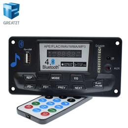 $enCountryForm.capitalKeyWord Australia - Freeshipping etooth 4.0 Audio MP3 Player Decoder Board Lossless Music Recorder APE FLAC FM SD MMC Radio Module Kit 12V AUX Digital