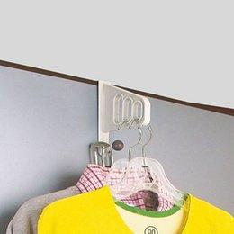 $enCountryForm.capitalKeyWord Australia - Multi-function Wall Door Hangers Hook Towel Holder Key Hanger Door Hooks Kitchen Cabinet Organizer Draw Towel Hanger