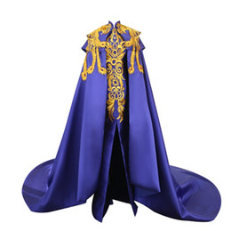 $enCountryForm.capitalKeyWord UK - Royal Blue Embroidery Luxury Evening Dress Elegant Oriental Prom Gowns Fashion Women Showes Gold Phoenix Cheongsam Long Trailing