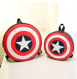 2fd683a38c4a Fashion Women and Men Backpack Captain America Shield Backpack Unisex School  Bags Backpacks for Teenage Girls and Boys