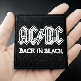 Band Clothes For Australia - Band Size:7.2x7.6cm Embroidered Patch for Clothing Iron on Sew Applique Cute Fabric Clothes Shoes Bags DIY Decoration Patches