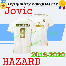 $enCountryForm.capitalKeyWord NZ - HAZARD Jovic 2019 20 Real Madrid Soccer Jersey home away NEW soccer shirt #20 ASENSIO ISCO MARCELO madrid 19 20 Football uniforms size S-2XL