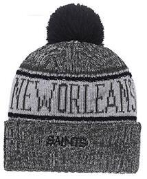 $enCountryForm.capitalKeyWord Australia - Discount Price Fashion Beanie Sideline Cold Weather Graphite Sport Knit Hat All Teams winter New Orleans Knitted Wool NO Skull Cap 05