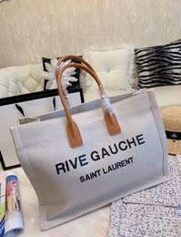 Decorative laDies bags online shopping - Hot large capacity ladies handbag shoulder bag new ladies messenger bag letter decorative shopping bag Size