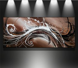 Oil Color Abstract Canvas Australia - New One Panel 100%Hand-Painted Modern Canvas Color Abstract Art Oil Painting Sitting Room Decoration No Frame (Free shipping!)