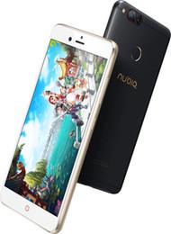 Firmware 5.2 pouces mondial d'origine Nubia Z17 Mini 4G mobile Téléphone 6G Ram 64G Rom 1920 x 1080P double arrière 13.0MP d'empreintes digitales NFC en Solde