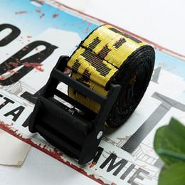 Woven belts for Women online shopping - Women Men Canvas Belt Fashion brand Letters Printed Belt Canvas Strap Long Jeans Belts For ribbon belt Weave yellow belts
