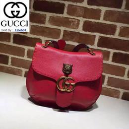 Metal handle handbags online shopping - libobo3 Cat shaped metal shopping bag medium shoulder bag red Women Handbags Bags Top Handles Shoulder Bags Totes Evening Cross Body