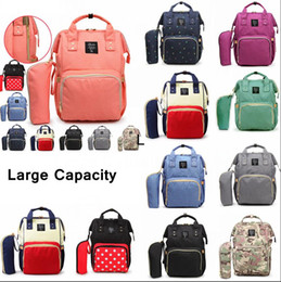 China 10Styles Mommy Backpacks Mother Pack Nappies Diaper Bags Camo Waterproof Maternity Handbags Nursing Travel Outdoor Storage Bags 20pcs AAA78 cheap outdoor camo backpack suppliers