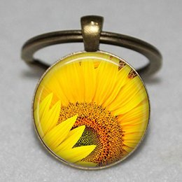 $enCountryForm.capitalKeyWord Australia - Sunflower key chain Sun flower gift Flower keychain Happy keyring Beautiful flowers Unique gifts, Gifts for her, Nature gifts