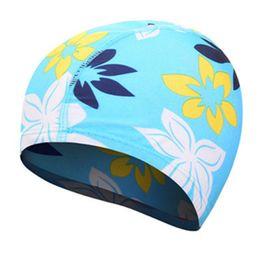$enCountryForm.capitalKeyWord UK - Long Hair swimming cap Suitable swimming pool Spa Stretchable Swim Cap Bathing Hat Earmuffs Swim Caps Elastic Waterproof Hat