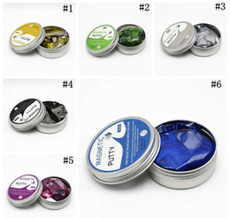 magnet putty Australia - new Magnetic Putty Magnetic Rubber Mud DIY Clay Creative Playdough Magnet Novelty Educational Slime Toys 6 Colors