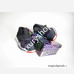 wide shoes sale Canada - NKSS06 2020 Hot sale good quality Kyrie 6 6s BQ4630-002 Pre Heat VI LA NY Basketball Shoes Black-University size40-46