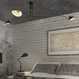 Luces modernas de techo DaWn Spider Serge Mouille para sala de estar Lámpara de dormitorio Luminaria colgante Accesorios de iluminación para el hogar Art Deco en venta