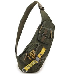 Military Day Packs Australia - High Quality Waterproof Nylon Men Cross Body Messenger Shoulder Bag Riding Military Assault Male Sling Chest Day Back Pack Y19061803
