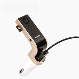Vente en gros Multifonction Kit mains libres Bluetooth A2DP Kit émetteur Fm USB voiture Lecteur de musique MP3 SD LED Chargeur de voiture HHA107