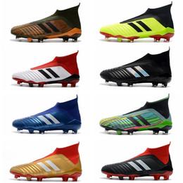 $enCountryForm.capitalKeyWord Australia - Predator New 18 Fg Mens Soccer Cleats Chaussures De Football Boots High Top Predator Telstar 18 Soccer Shoes Neymar Football Shoes