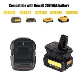 Toptan satış DCA1820 DCB200 18 / 20V MAX batarya adaptörü eski Nikel Kadmiyum alet kullanımını (adaptör için) 18V için