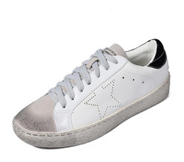 050ef37577218 Italy Designer Golden pu leather Casual Men trainers super Star dirty Goose  Shoes Footwear Zapatillas basket femme 36-44