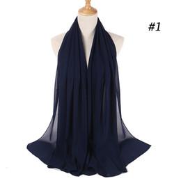 MusliM chiffon scarfs online shopping - New Design High quality hot sale Muslim scarf in good price Women hijab in good price