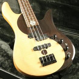 $enCountryForm.capitalKeyWord Australia - JBN45131 4 5 Strings Yinyang Electric Bass Guitar Solid Rosewood Top Yellow Pineapple Body