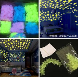 $enCountryForm.capitalKeyWord Australia - 3cm stars luminous patch children's bedroom fluorescent light stars snow wall stickers