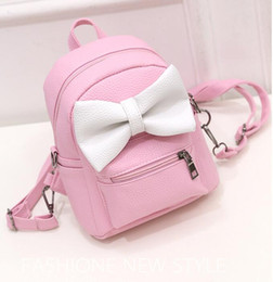 $enCountryForm.capitalKeyWord Australia - 2019 New Mouse Backpack Female Mini Bag Women's Backpack Sweet Bow Teen Girls Backpacks School Bags Lady Bag Shoulder Bag