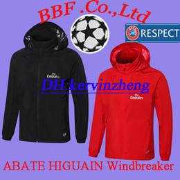 Football Jersey Hoodie Australia - Thai Windbreaker Hoodie 18 19 Soccer  Jerseys CALHANOGLU ANDRE SILVA BACCA acec11e70