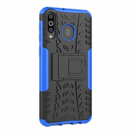 Chinese  Hybrid KickStand Impact Rugged Heavy Duty TPU+PC Shock Proof case Cover FOR Samsung Galaxy M10 M20 M30 A20 A30 50 A40 A70 A2 CORE 160P manufacturers