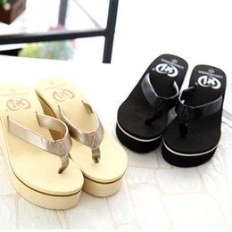 women sexy flip flops Australia - 2019 Hot Sale Women Sandals Sexy Ladies Summer Slippers Shoes New Flip Flops Indoor Slippers Bohemian Muffin Slope With Sandals