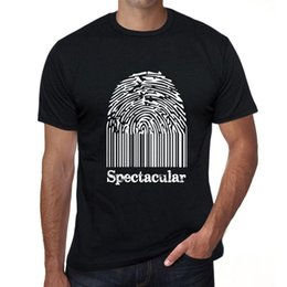 gifts fingerprint 2019 - Spectacular Fingerprint Mens T shirt Black Birthday Gift 00308 discount gifts fingerprint