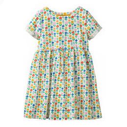 f2da02d33c7e8 StyliSh baby girl clotheS online shopping - Stylish Girl Party Dress for Kids  Cotton Summer Clothes