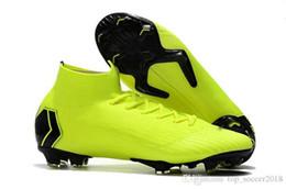 051d7da3b9da Football Lights Up UK - Mercurial Green Soccer Cleats Light Superfly Vi 360  Elite Fg Original