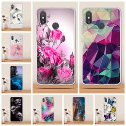 cheap white roses Australia - Cheap Fitted Cases for Xiaomi Mi 3 Case Silicone TPU Coque for Xiaomi Mi Max 3 Max3 Case Cover Soft Patterned