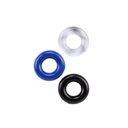 CoCk produCts online shopping - 3 Pieces Pack Silicone Time Delay Ring Cock Rings Adult Products Male Flexible Stay Donuts Cock Rings