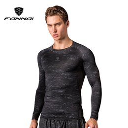 $enCountryForm.capitalKeyWord NZ - FANNAI Men Long Sleeve Running Shirt Compression Gym Fitness Shirts Bodybuilding Workout T-shirt Sport Tops Training Tracksuit