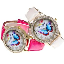 Glasses Straps Australia - Fashion brand ladies watch women wristwatches Casual Ladies Watch Glass Mirror Leather Strap Quartz Watch#P6